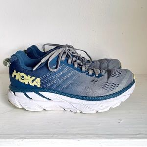 Hoka One One Clifton 6 In Ensign Blue/Wild Dove